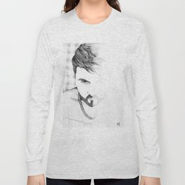 2 faces Long Sleeve T-shirt