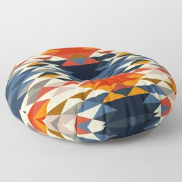 Southwestern Diamonds Floor Pillow