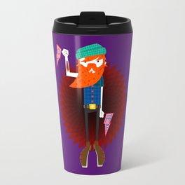 Hipster Beard Daddy Travel Mug