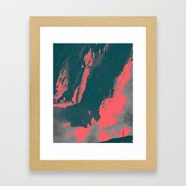 ESCALATION Framed Art Print