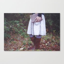Bookish 03 Canvas Print