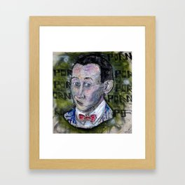 pee wee Framed Art Print