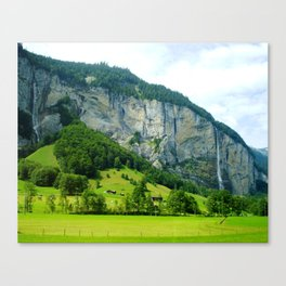 Lauterbrunnen Valley Canvas Print
