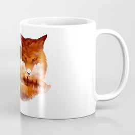 The Girl in the Red Forest Coffee Mug