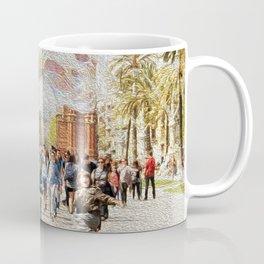 Barcelona's Arc de Triomf Coffee Mug