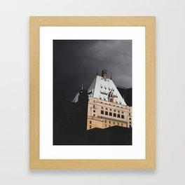 Hotel Vancouver Framed Art Print