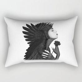 Eloa - Angel Of Sorrow & Compassion Angel Art Rectangular Pillow