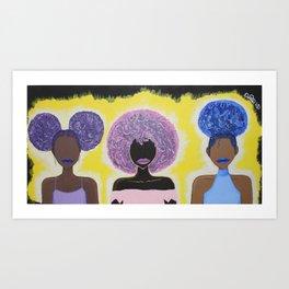 Together We Shine Art Print