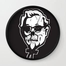 Skull Sanders Wall Clock