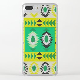 Fresh ethnic decor Clear iPhone Case