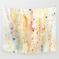 splatter Wall Tapestries featuring Splatter Desire by Martina Erives50