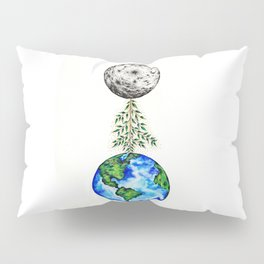 To the moon and back Pillow Sham