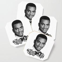 Thug Life Carlton Coaster