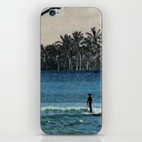 aloha iPhone & iPod Skins featuring Aloha by cause defect