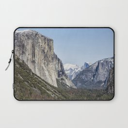 El Capitan, Half Dome and Sentinel Rock from Tunnel View Laptop Sleeve