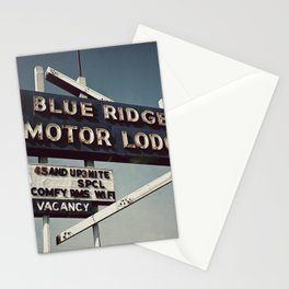 Motor Lodge Stationery Cards