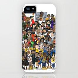 Basketball Culture iPhone Case