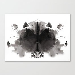 Rorschach test 4 Canvas Print