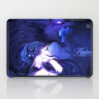 league of legends iPad Cases featuring League of Legends - Kindred by dNiseb