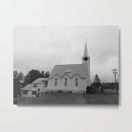 Get in the God-itorium Metal Print