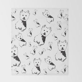 WEST HIGHLAND TERRIER GIFTS Throw Blanket