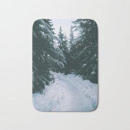 Winter Trails Bath Mat