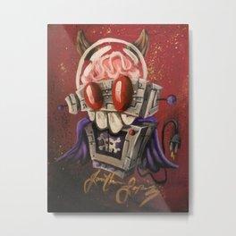 Robotronic: Evil Bot Metal Print