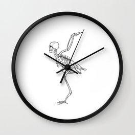 Harpy Skeleton Wall Clock