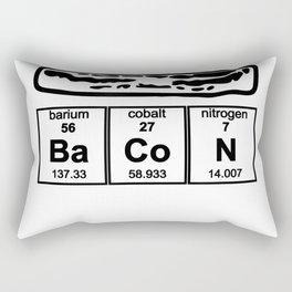 Bacon Chemistry Bacon Strip Funny Novelty T-Shirt Rectangular Pillow