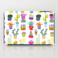 succulents iPad Cases featuring Succulents by Annelijacobson