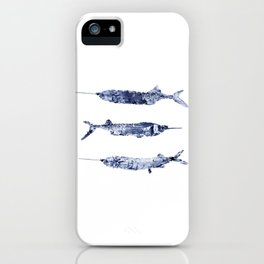 Blue Ballyhoo iPhone Case