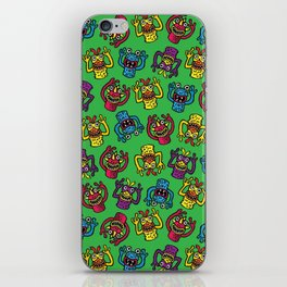 Retro Toy Finger Monsters iPhone Skin