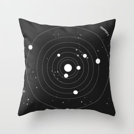 Trappist 1 Throw Pillow