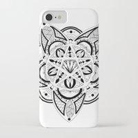 pentagram iPhone & iPod Cases featuring Pentagram by Captain Dibbzy