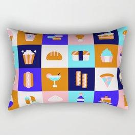 Food & Drinks Rectangular Pillow