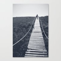 adventure Canvas Prints featuring Adventure by Light Wanderer