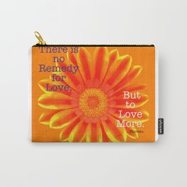 Thoreau Quote Carry-All Pouch