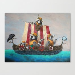 Viecoons Canvas Print