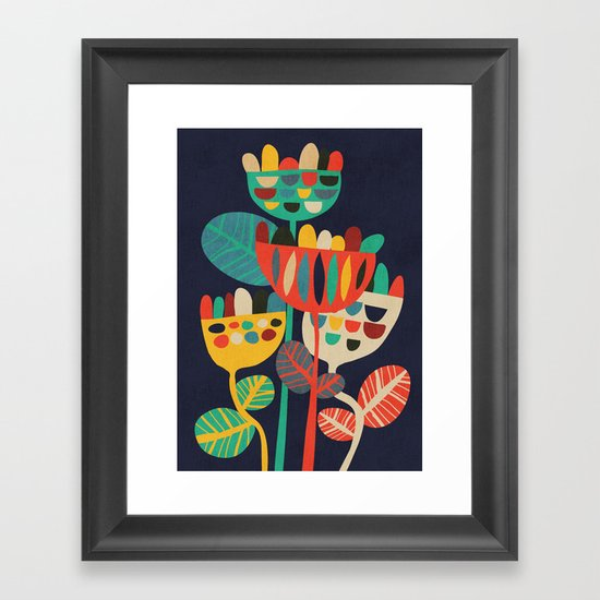 Wild Flowers Framed Art Print
