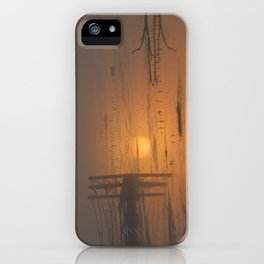 Sunrise on the Horicon Marsh iPhone Case