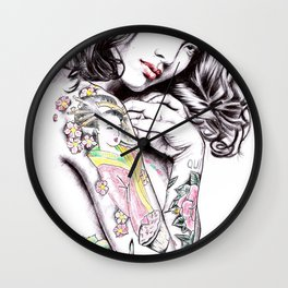 Levy Tran Wall Clock