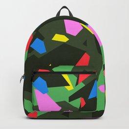 Green\Red\Blue\Black\Grey\Pink Geometric camo Backpack