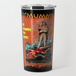 Woman in the red dress meets The Mummy Travel Mug