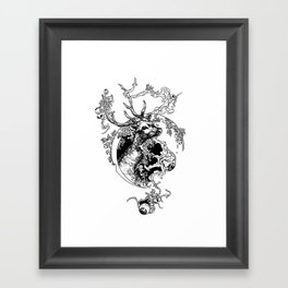 Spirit Of  The Forest Framed Art Print