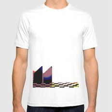 Two Towers Mens Fitted Tee MEDIUM White