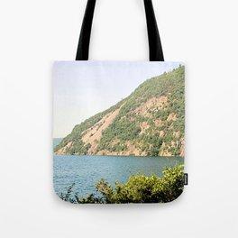 Roger's Rock on Lake George Tote Bag