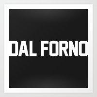 Team Dal Forno Art Print