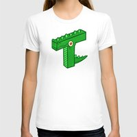 t rex T-shirts featuring T-Rex by Artistic Dyslexia