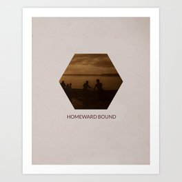 Homeward Bound Art Print
