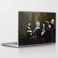 girl power Laptop & iPad Skins featuring Girl Power by ZOMBIFIED